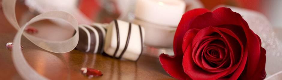 Rozen en bonbons - bruiloft
